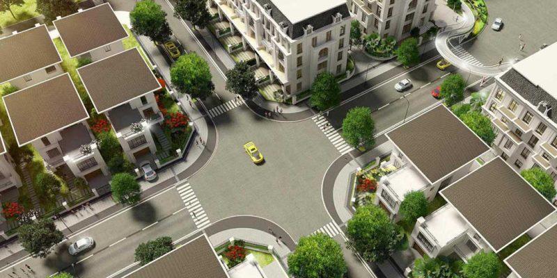 Khu đô thị Mạnh Đức Resident, Tân Hồng, Từ Sơn, Bắc Ninh- Phối cảnh 3D