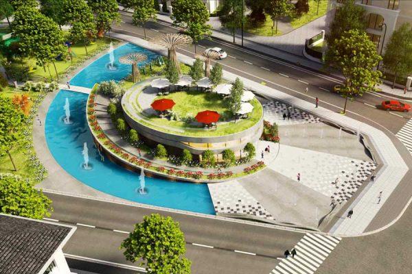 Công viên trung tâm dự án