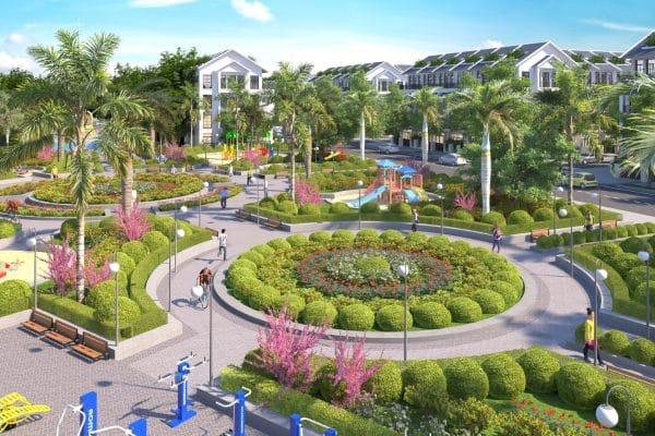 Công viên trung tâm Đại Từ Garden City Thái Nguyên