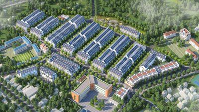 Phối cảnh tổng quan dự án Đại Từ Garden City Thái Nguyên