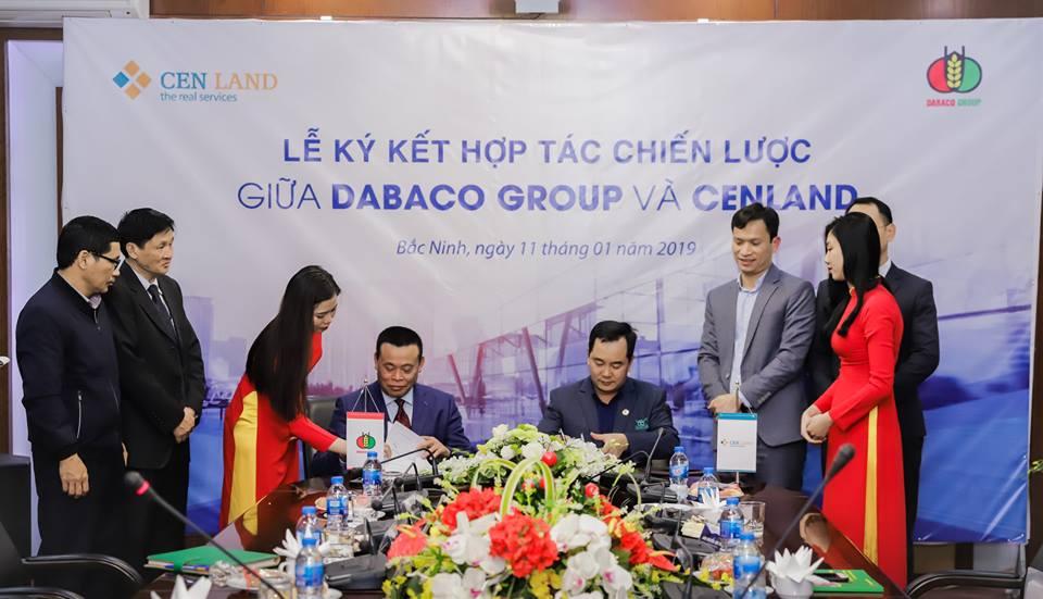 Lễ ký kết hợp tác chiến lược giữa Dabaco Group & CenLand